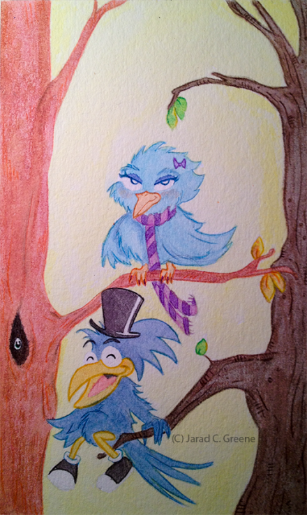Birds of a Feather   Jarad Greene