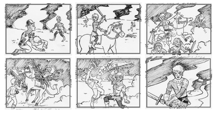 Henry V Storyboards | Jarad Greene