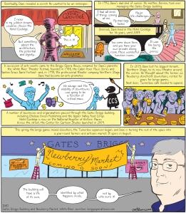 Dave Briggs profile comic | Jarad Greene