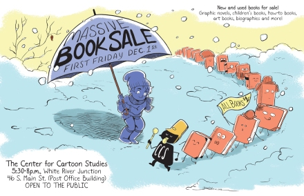 CCS Book Sale Poster | Jarad Greene