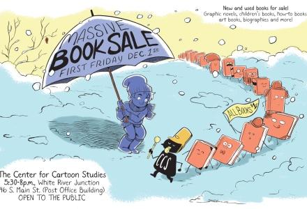 CCS Book Sale Poster | Jarad Greene